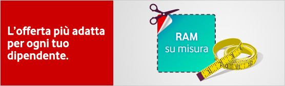 Vodafone Rete Unica Su Misura.Vodafone Ram Su Misura Per Le Medie Grandi Aziende Vodafone